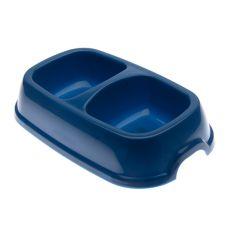 Dvojmiska pre psov SNACK 22 - modrá, 2 x 500 ml