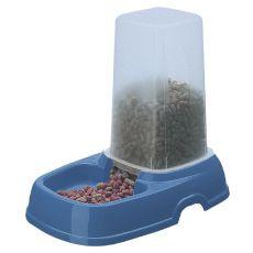Dávkovač vody a potravy KUFRA 2 - modrý - 1,5L