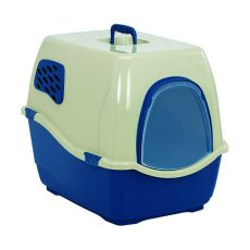 Toaleta pre mačky BILL 1F, modrá - 40 x 50 x 42 cm