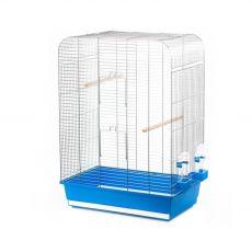 Klietka pre vtáky NINA biela- 54 x 34 x 75 cm