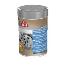 Vitamíny pre šteňatá 8 in 1 VITALITY JUNIOR - 100 tbl