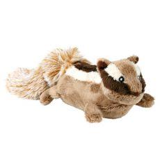 Plyšová hračka pre psa - veverička, 23 cm