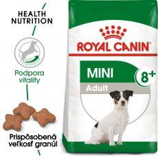 Royal Canin Mini Adult 8+ granuly pre dospelé starnúce psy 8 kg