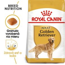 ROYAL CANIN Golden Retriever Adult granule pre dospelého zlatého retrievera  3 kg