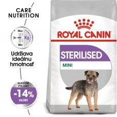 ROYAL CANIN Mini Sterilised granuly pre kastrované malé psy 1 kg