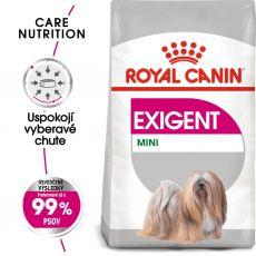 ROYAL CANIN Mini Exigent granuly pre maškrtné malé psy 1 kg