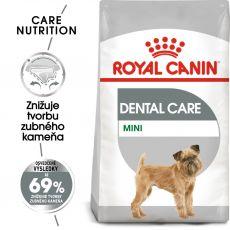 ROYAL CANIN Mini Dental Care granuly pre psy znižujúce tvorbu zubného kameňa 8 kg