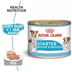 Royal Canin Starter Mousse konzerva pre brezivé alebo dojčiace suky a šteňatá 195 g