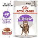Royal Canin Sterilised Gravy kapsička pre kastrované mačky v šťave 85 g