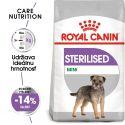 ROYAL CANIN Mini Sterilised granuly pre kastrované malé psy 8 kg